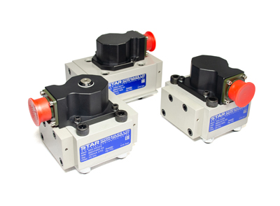 Star Hydraulics 550, 650 and 1550 series Servo Valve products on white background