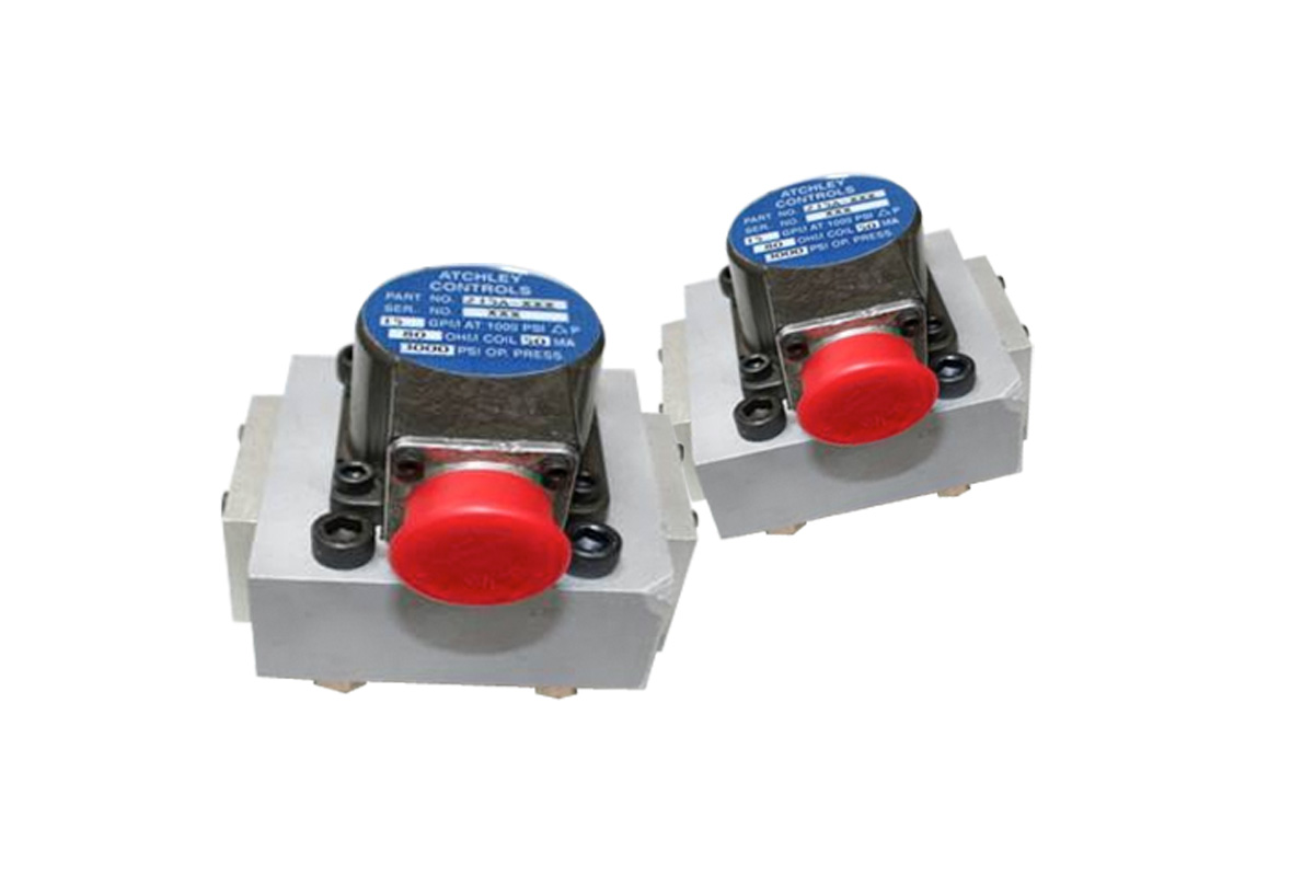 Atchley Hydraulic Servo Valves - Reman & New Aftermarket