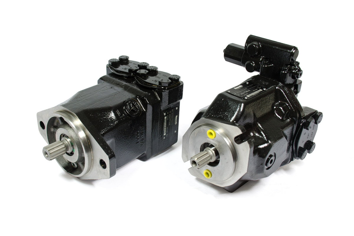 Bosch Rexroth Genuine Replacement Pumps & Motors