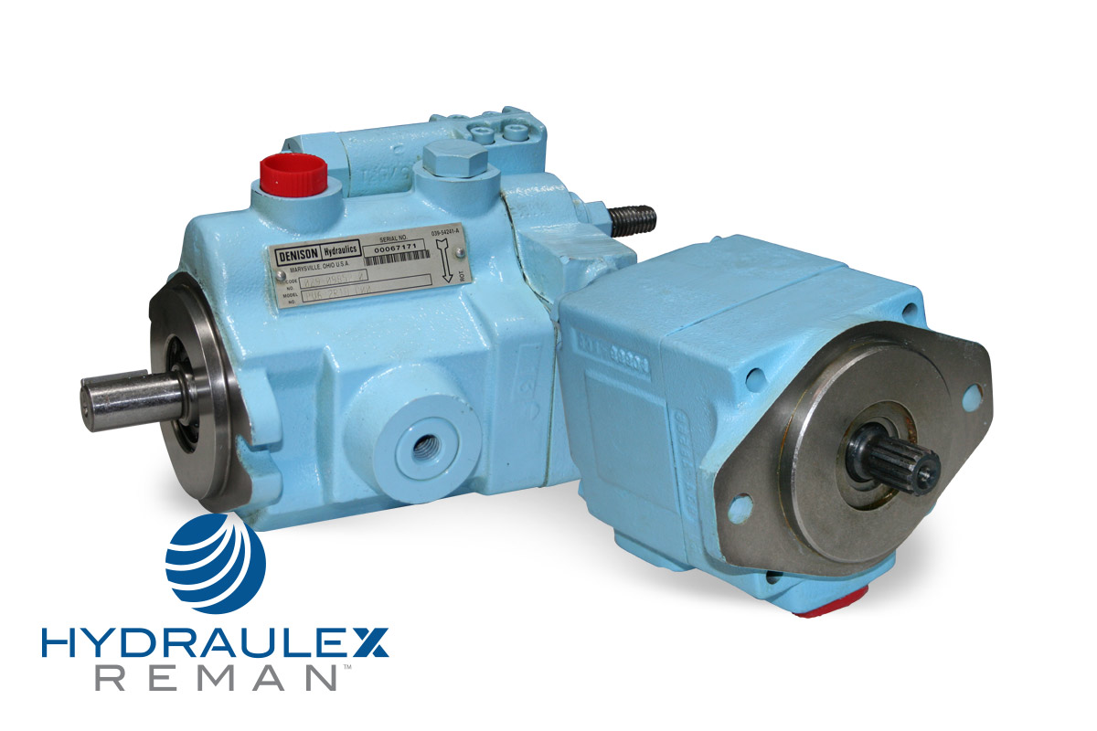 Denison Hydraulic Pumps & Motors - Reman & New Aftermarket
