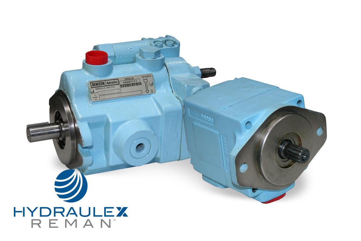 Denison hydraulic pumps motors reman aftermarket units for Denison motors denison tx