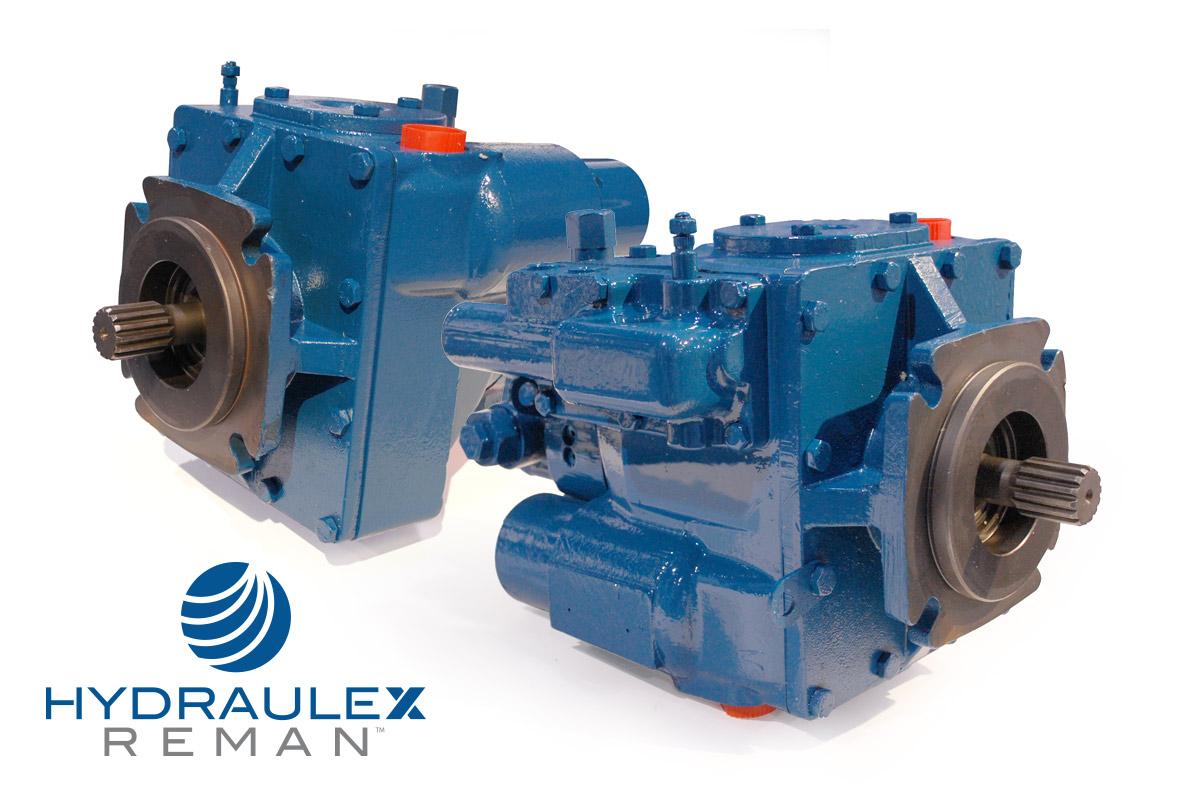 Eaton Hydraulic Pumps & Motors, Reman Units: Series 1 & 2