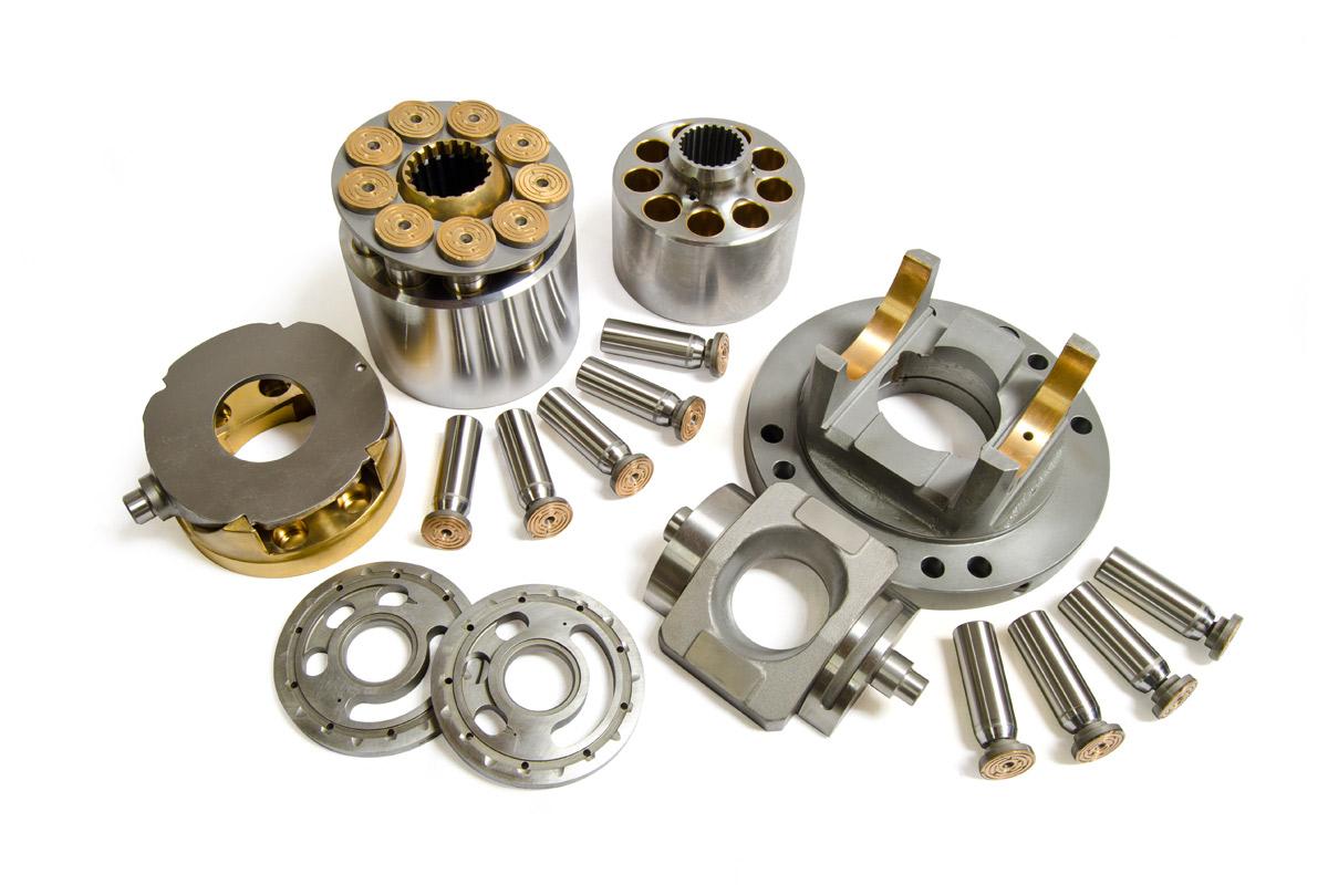 replacement komatsu hydraulic pump parts hpv series hydraulex