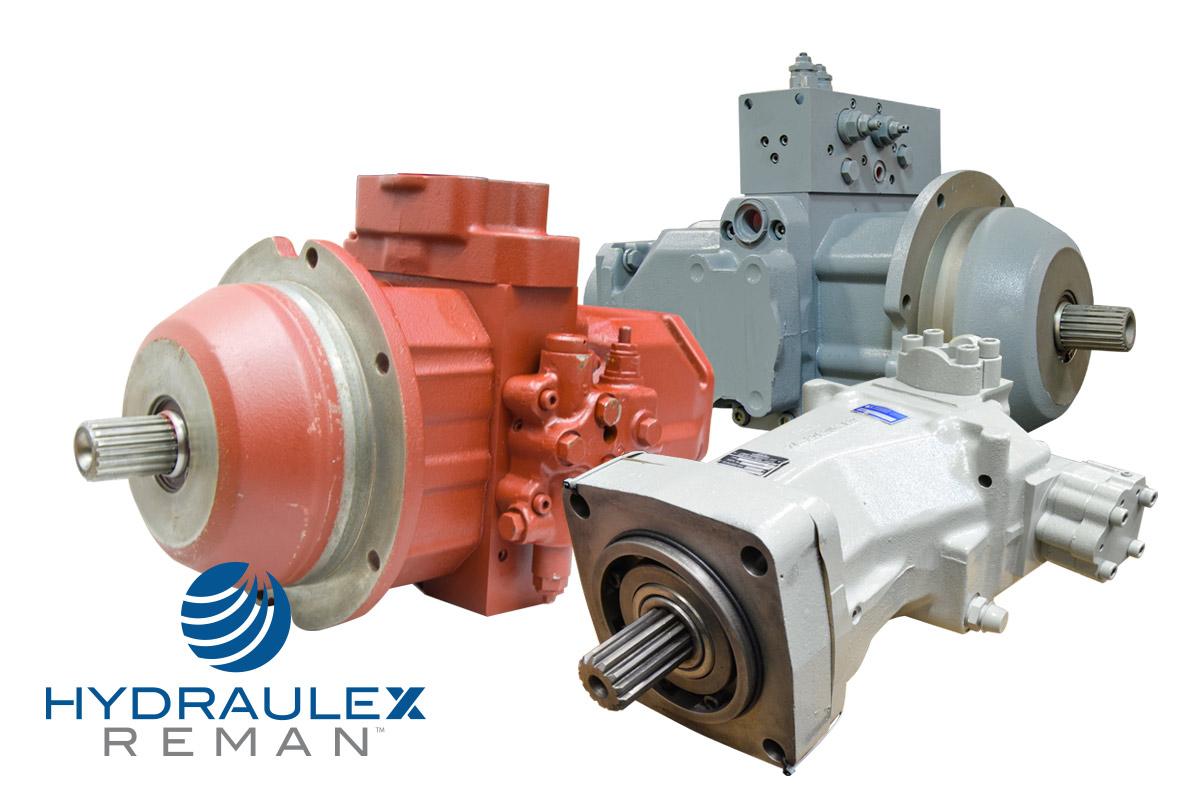 Hydraulic Piston & Vane Pumps & Motors - Bosch, Continental