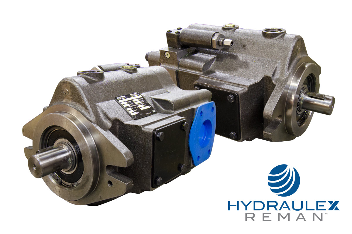 Parker Hydraulic Pumps & Motors - Reman PAVC, PVP, PVV series