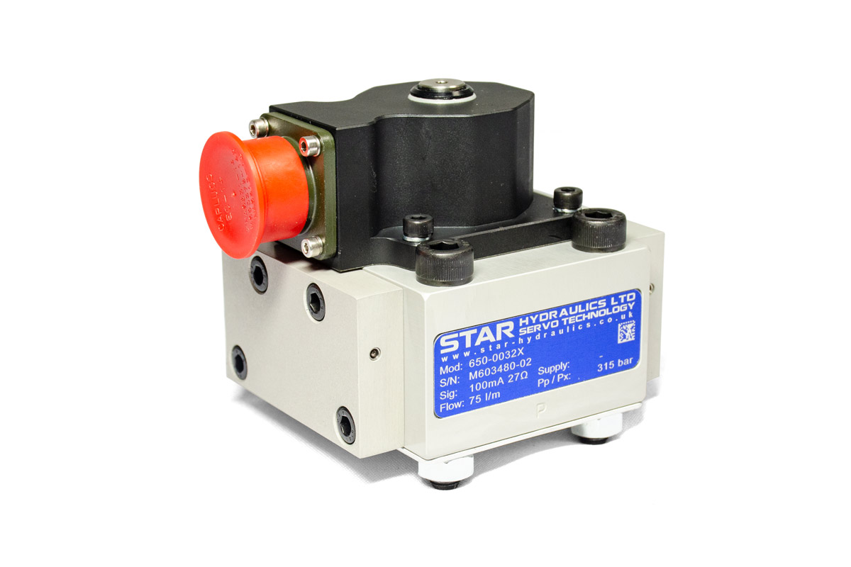 Star Hydraulics 650 Series Servo Proportional Valve on white background
