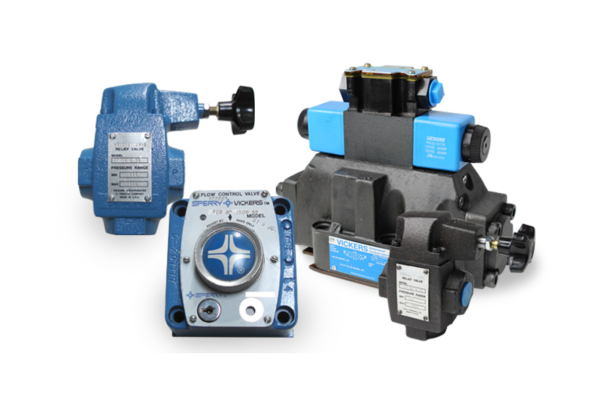 Vickers Hydraulic Valves - Reman & New Aftermarket