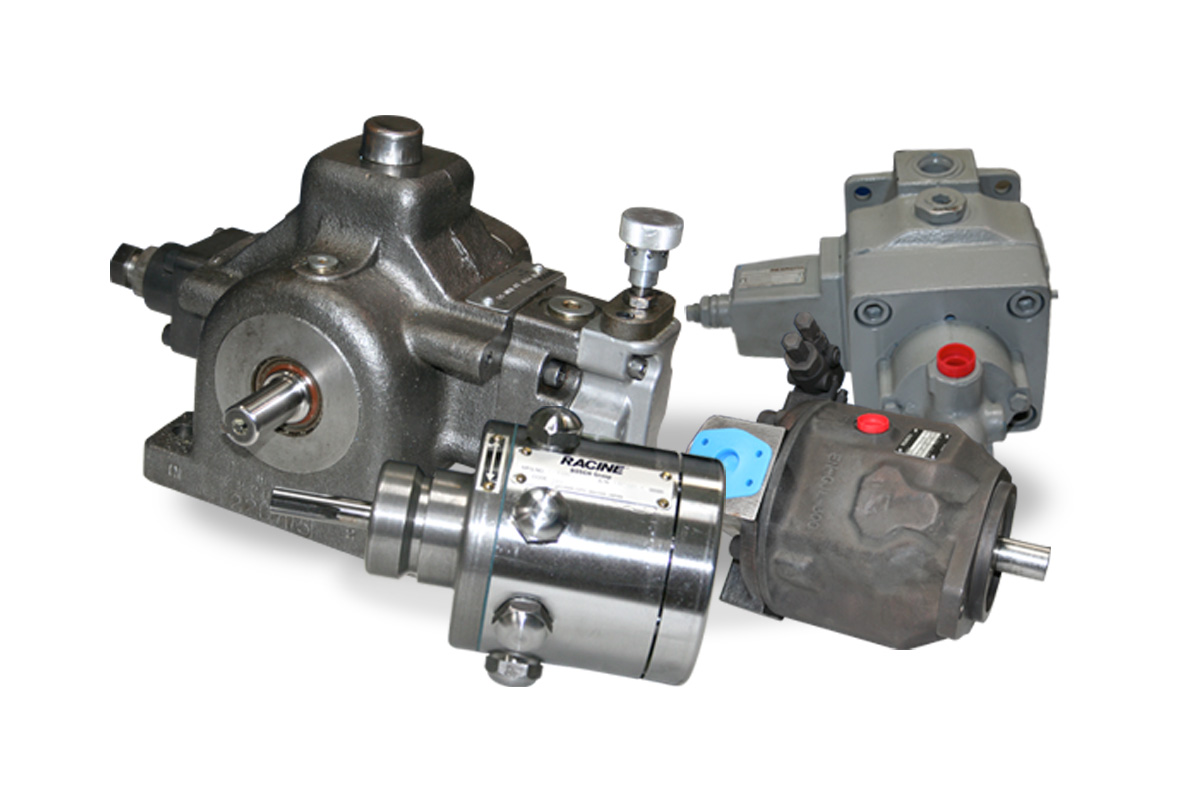 Hydraulic pump and motor repair services for Hydraulic pump with motor