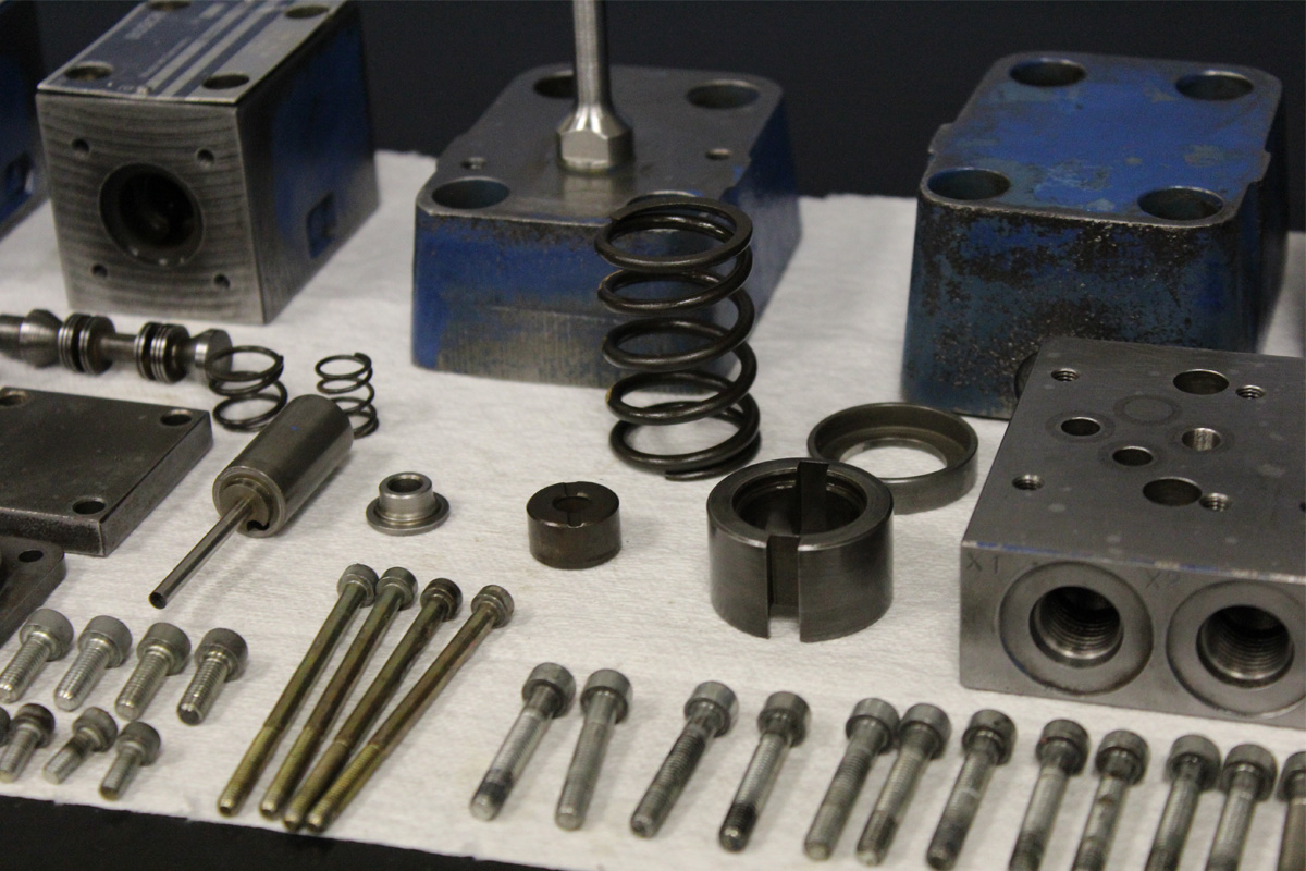 Bosch Rexroth Hydraulic Servo & Proportional Valve Repair Services
