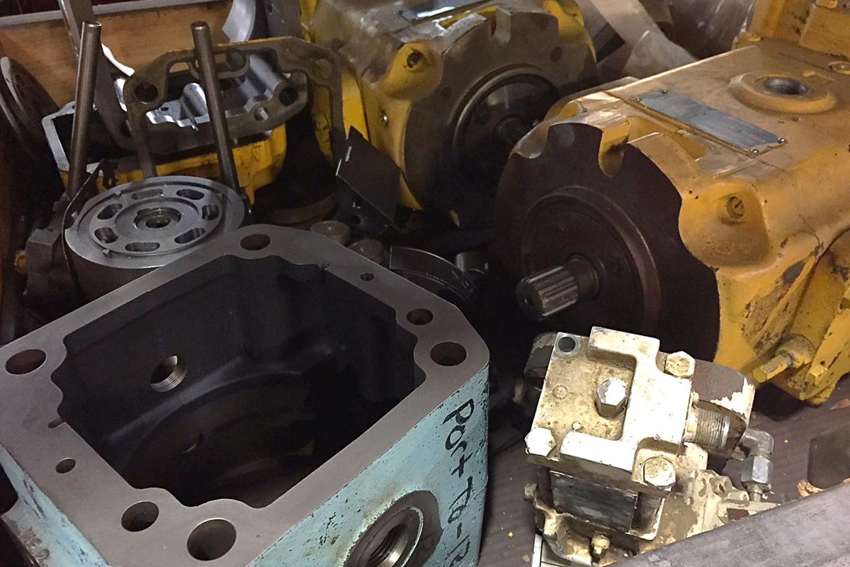 Denison Hydraulic Pump Motor Repair
