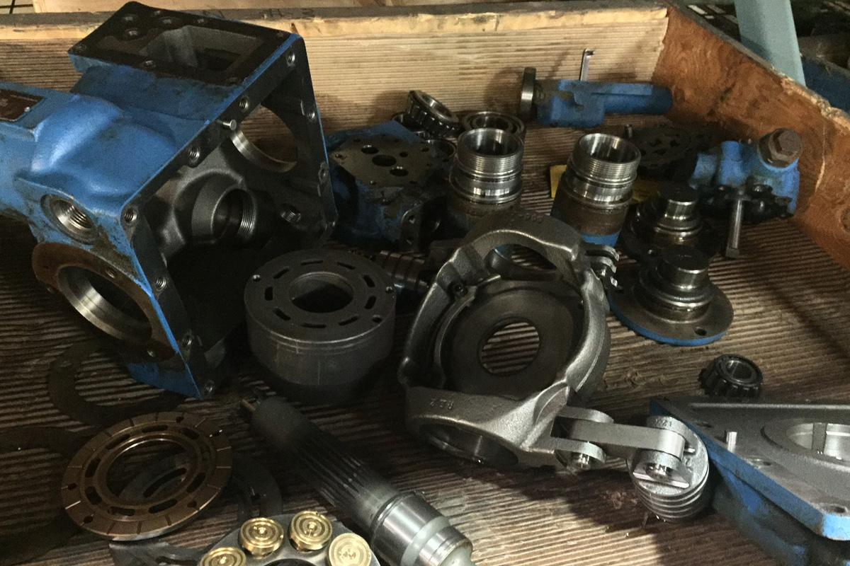 伊顿泵与马达维修服务