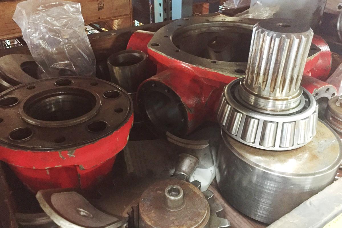 Staffa Hydraulic Pump Motor Repair